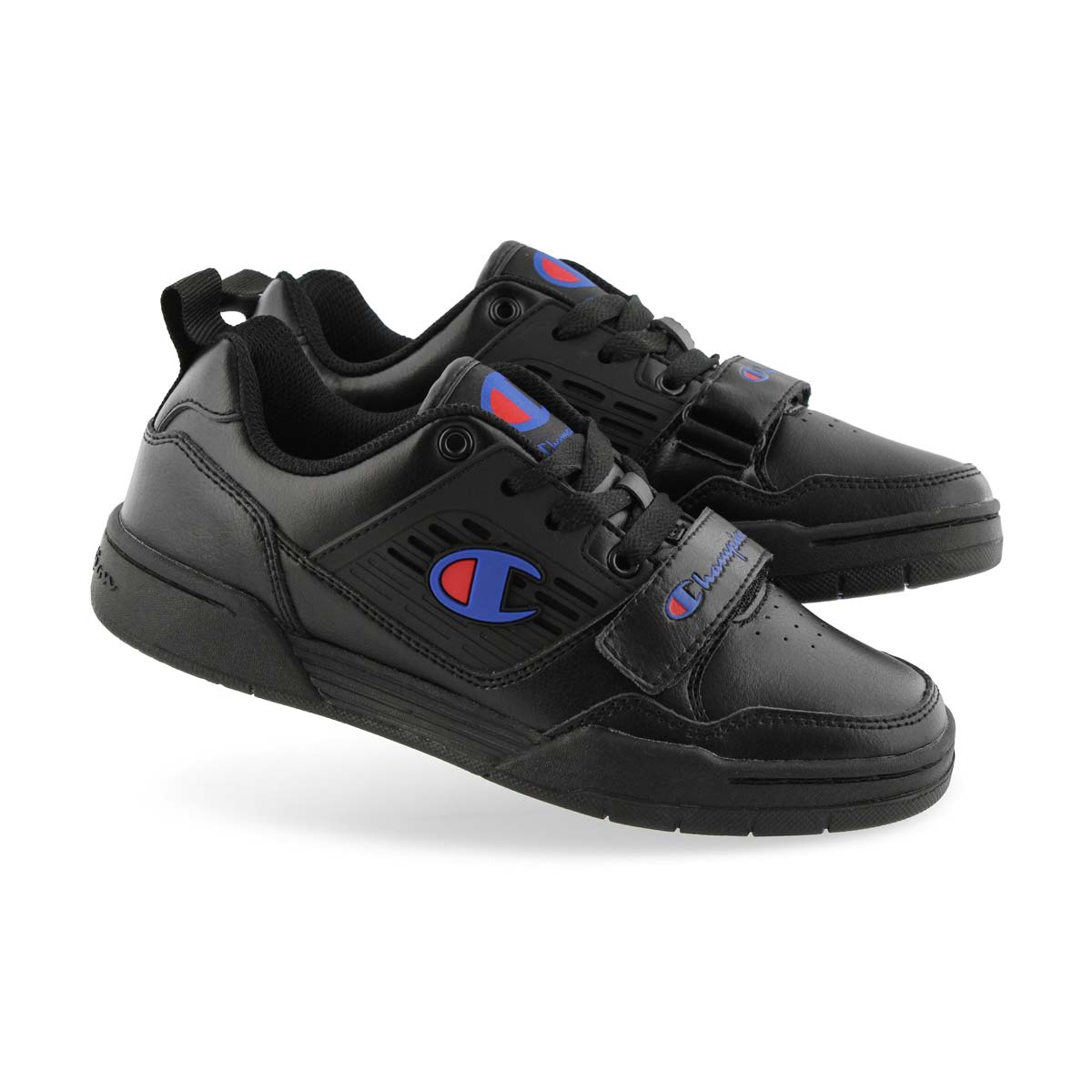 Kids' 3 On 3 Low Sneaker - Black