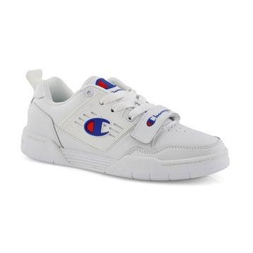 Kids' 3 On 3 Low Sneaker - White