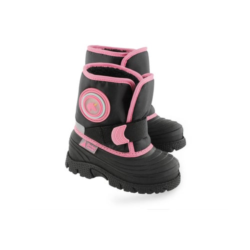 Inf-g Cub pink pull on winter boot