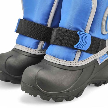 Infants' CUB 2 blue pull on winter boots