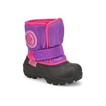 Infants' CUB 2 purple pull on winter boots
