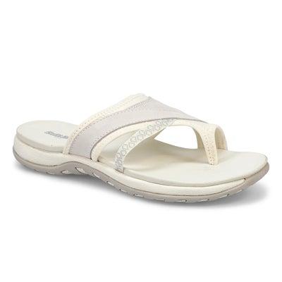 Lds Cynthia 2 white wrap sport sandal