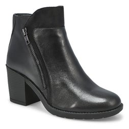 Lds Daisey black casual ankle boot