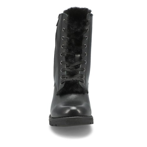 Lds Daphnie black combat boot