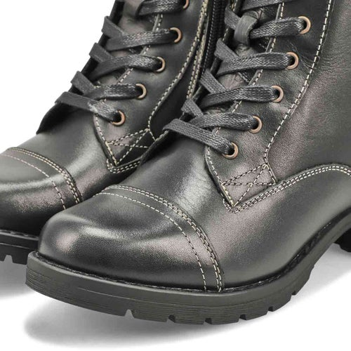 Lds DeeDee 3 black combat boot
