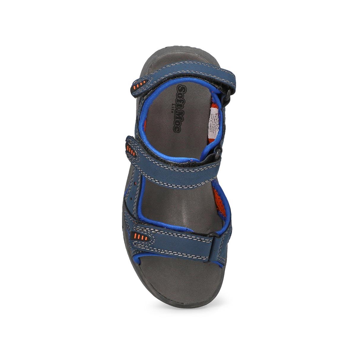 Sandales sport DIEGO, bleu marine/orange, garçons