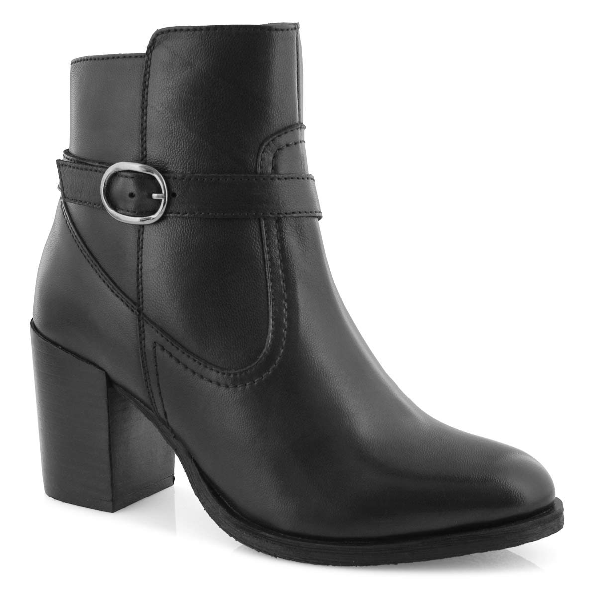 Women's DOMINA black ankle booties