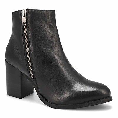 Lds Dorothy black side zip ankle bootie