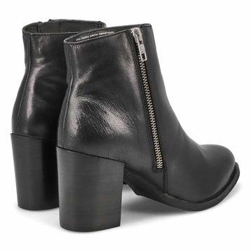 Women's DOROTHY black side zip ankle booties