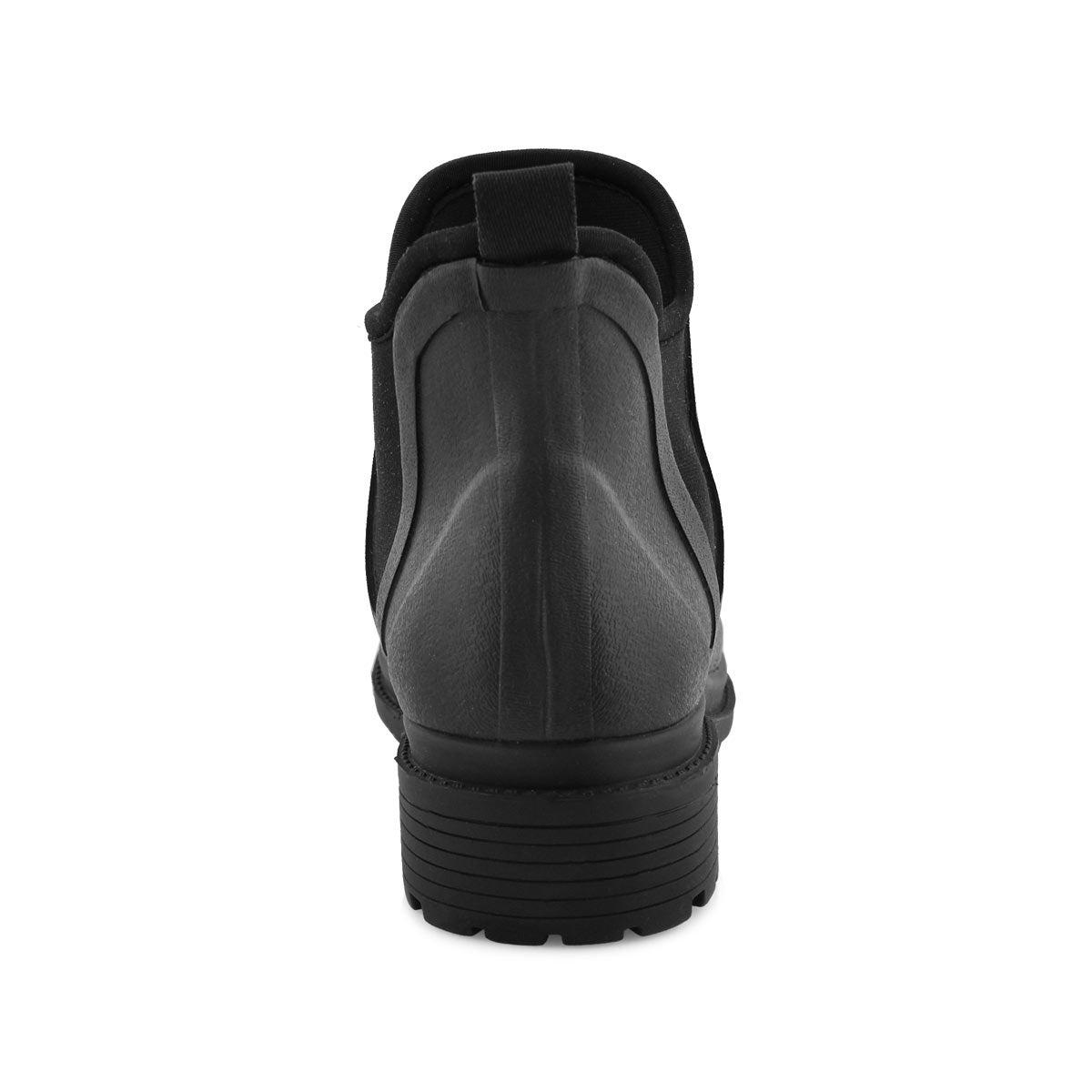 Women's DREW black waterproof chelsea boots