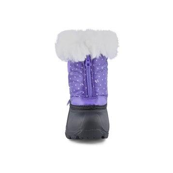 Infants' EDEN 2 lavender pull on winter boots