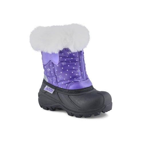 Inf-g Eden 2 lav pull on winter boot