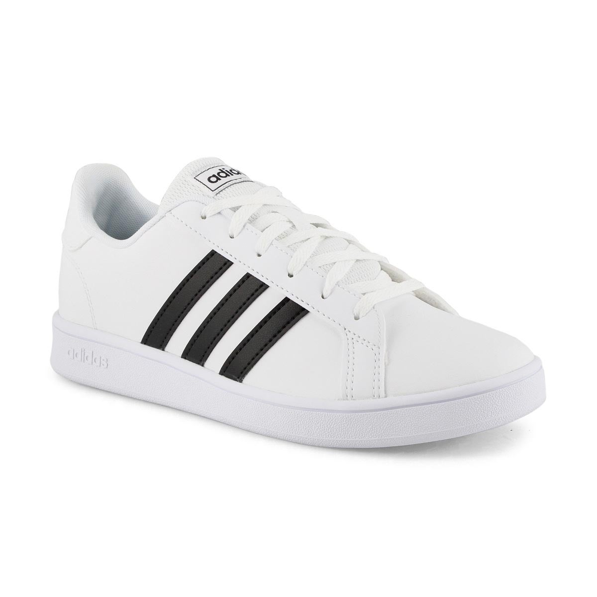 Kid's Grand Court Sneaker - White/Black