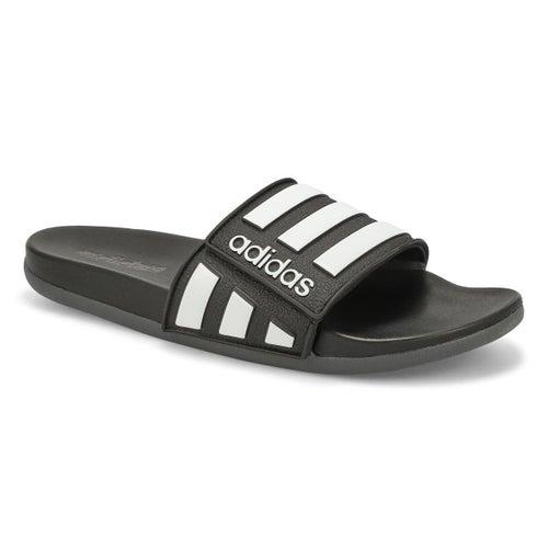 Mns Adilette Comfort ADJ blk/wht sandal