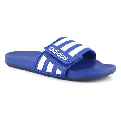 Men's ADILETTE COMFORT ADJ blue/white sandals