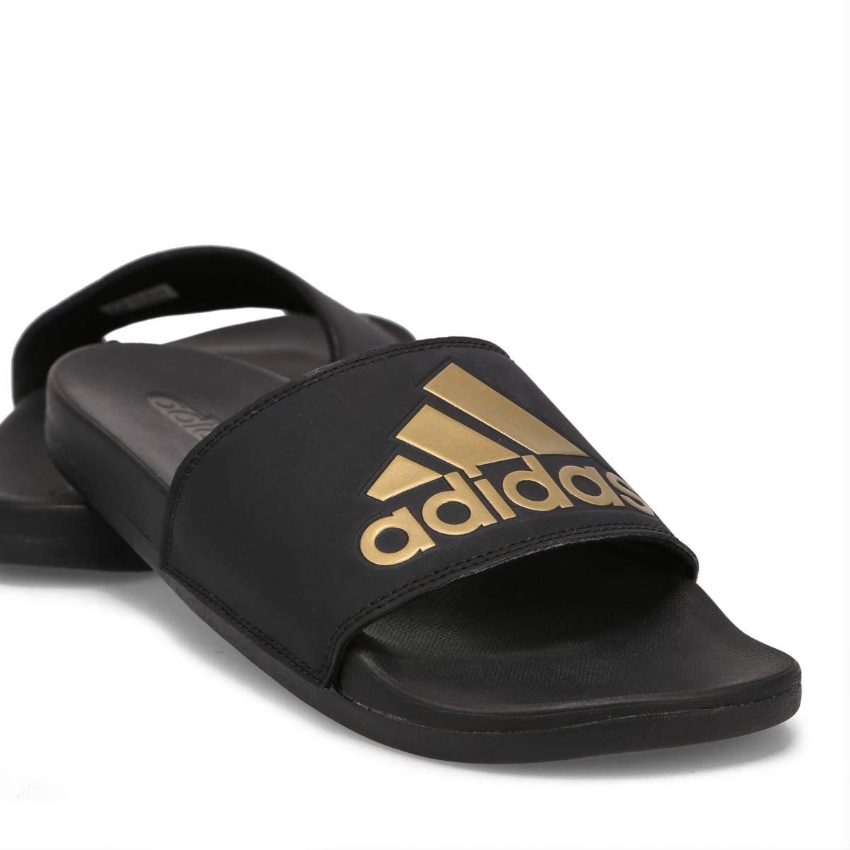 Men's Adilette CF+ Logo Slide Sandal - Black/Gold