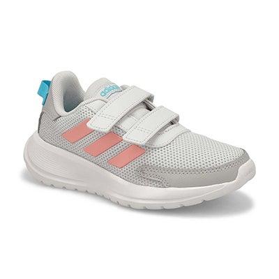 Girls' TENSAUR C  grey/pink/cyan sneakers