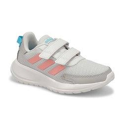 Grls Tensaur C grey/pink/cyan sneaker