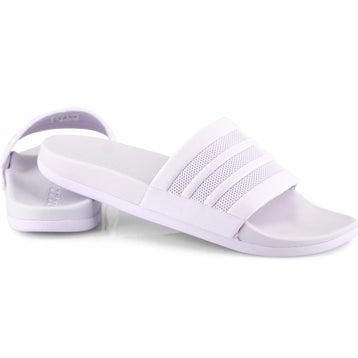 Women's ADILETTE CF+ MONO purple sport slides