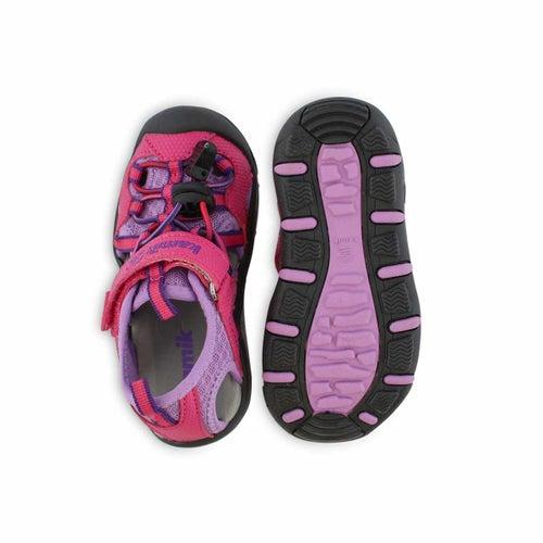 Inf-g Electro pink fisherman sandal