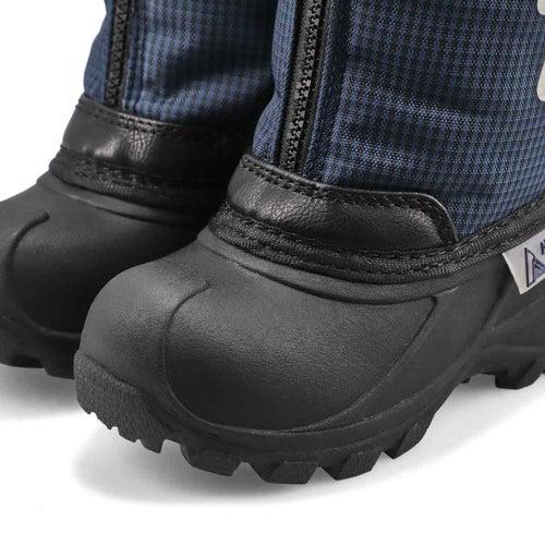 Inf-b Elias navy pull on winter boot