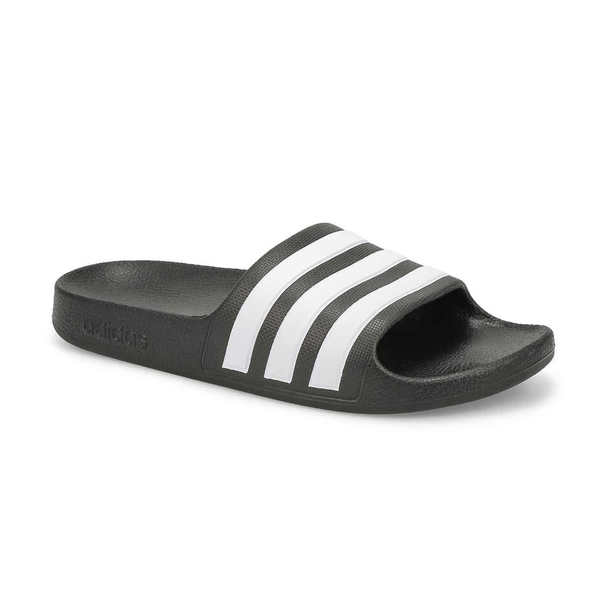 Kid's Adilette Aqua Slide - Black/White