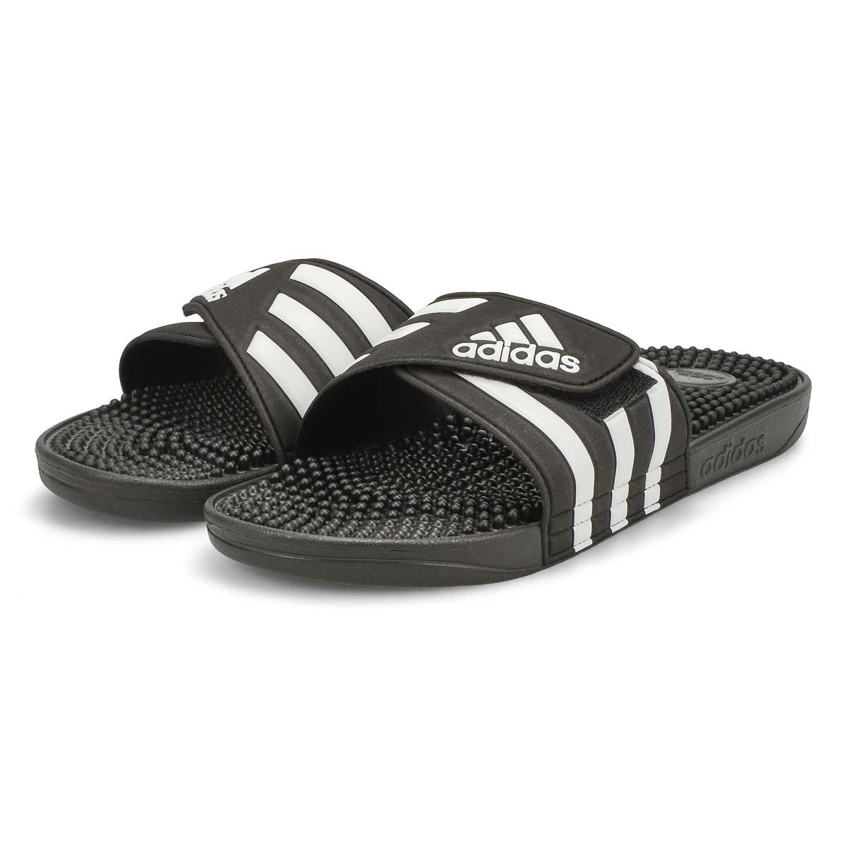 Men's Adissage Slide Sandal - Black/White