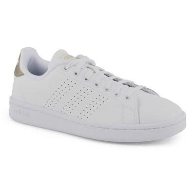 Women's ADVANTAGE white /copper sneakers