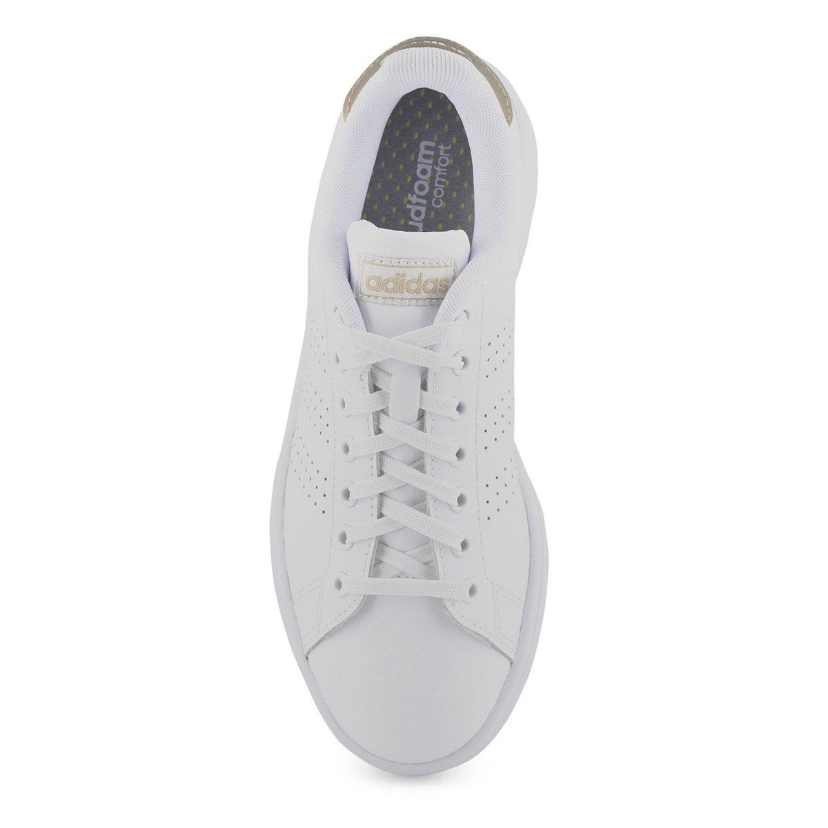 Women's Advantage Sneaker - White /Copper
