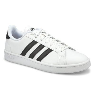 Mns Grand Court Sneaker - Wht/Blk