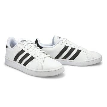 Men's Grand Court Sneaker - White/Black