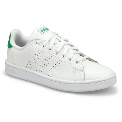 Men's ADVANTAGE white /green sneakers