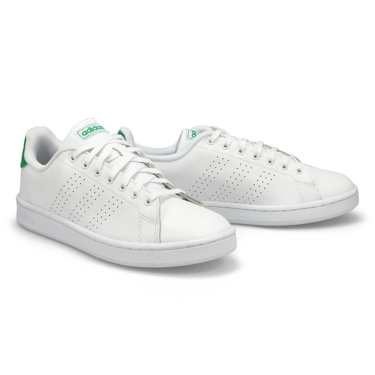 Mns Advantage wht/grn sneaker