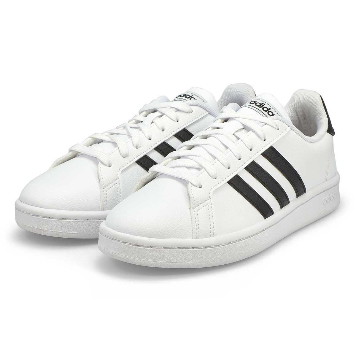 Women's Grand Court Sneaker - White/Black