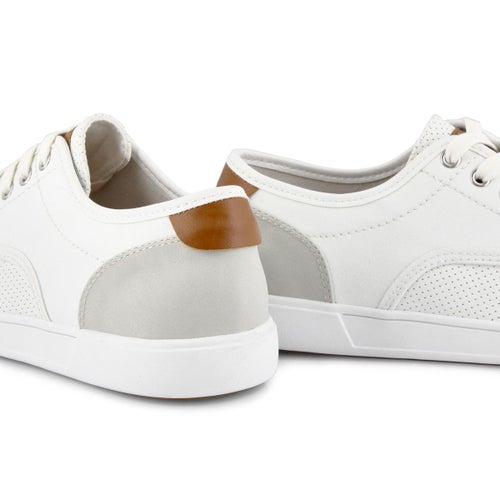 Mns Flanker white lace up casual sneaker