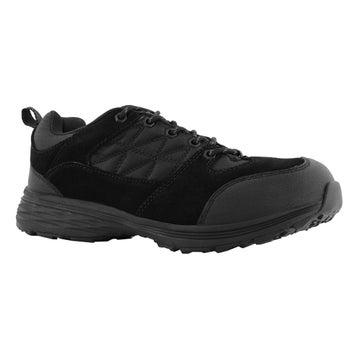 Men's FLASH black lace up CSA safety shoes