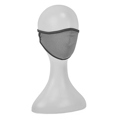 Unisex Macseis PowerDry gry face mask-LG
