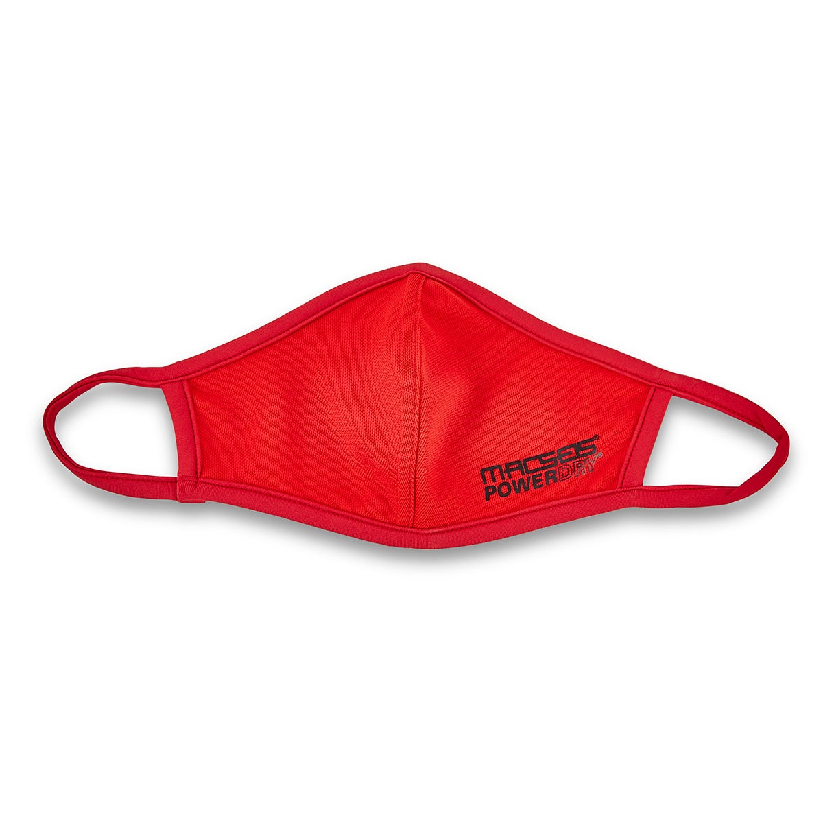 Unisex MACSEIS POWERDRY red face masks - SMALL