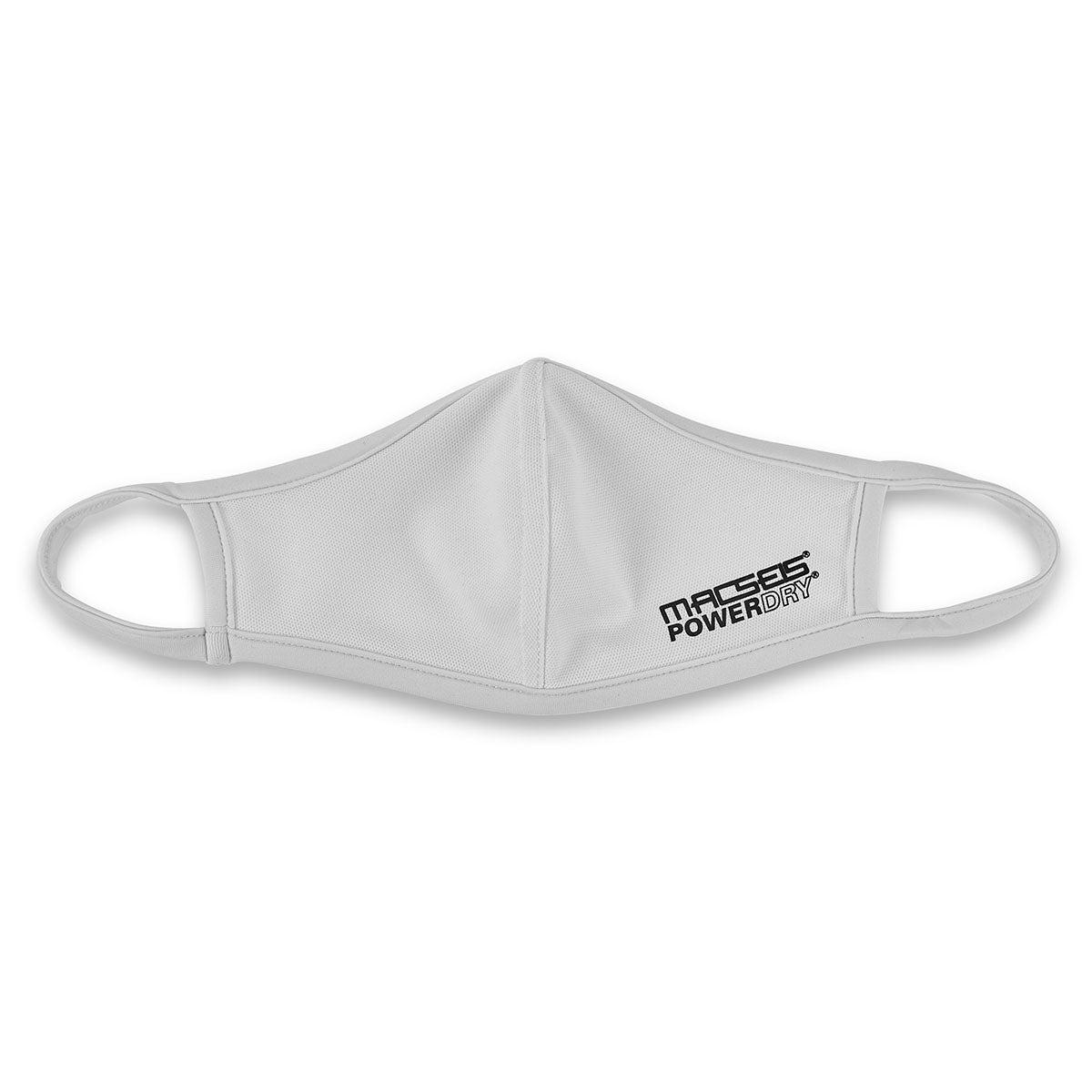 Unisex Macseis PowderDry Mask - White Small