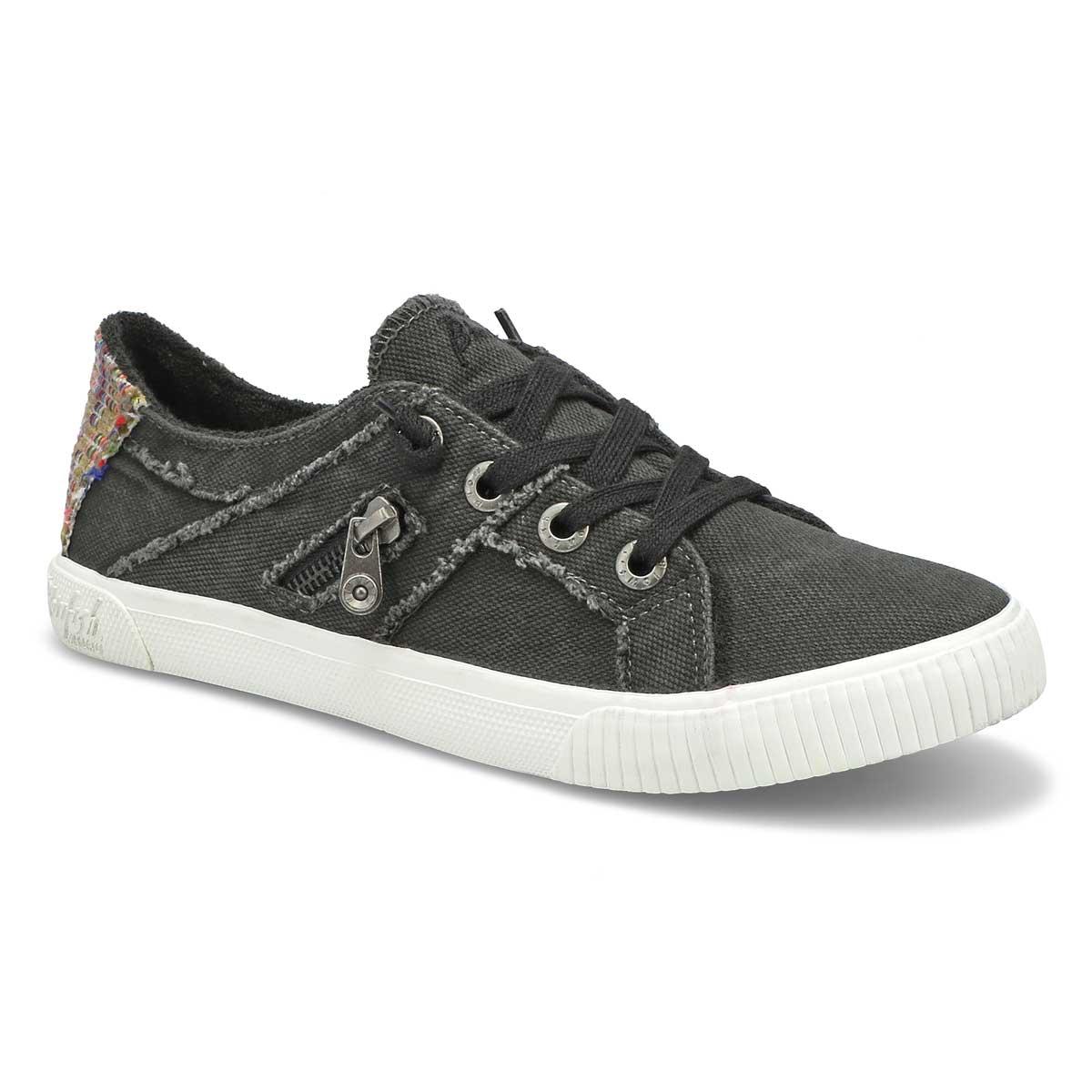 Women's Fruit Sneaker - Black Smoke