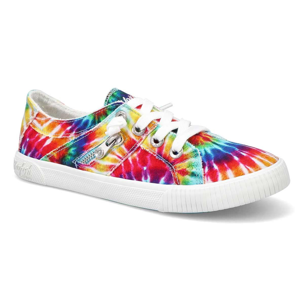 Women's Fruit Sneaker - Rainbow Tie Dye