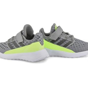 Chaussures de course RAPID RUN, gris/vert, bébés