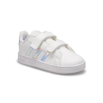 Inf-g Grand Court I wht/blue sneaker