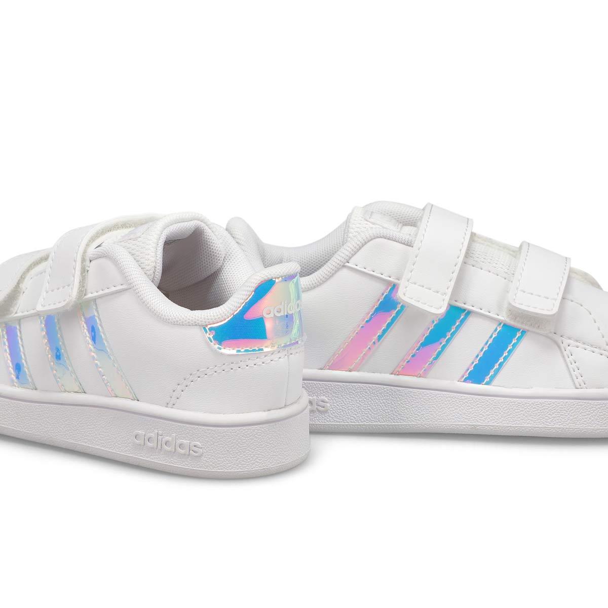 Infant's Grand Court I Sneaker - White/Blue