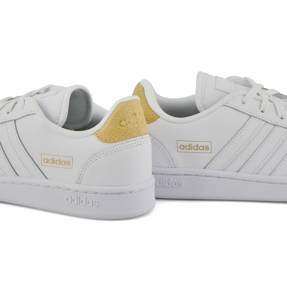 Women's Grand Court SE Sneaker - White/Clear Pink