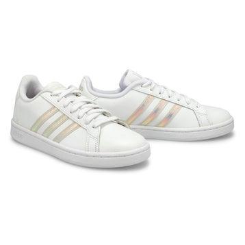 Women's Grand Court Sneaker - White/Alumina