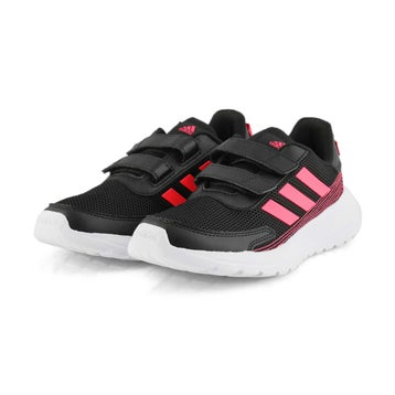 Grls Tensaur Run C black/pink running shoe