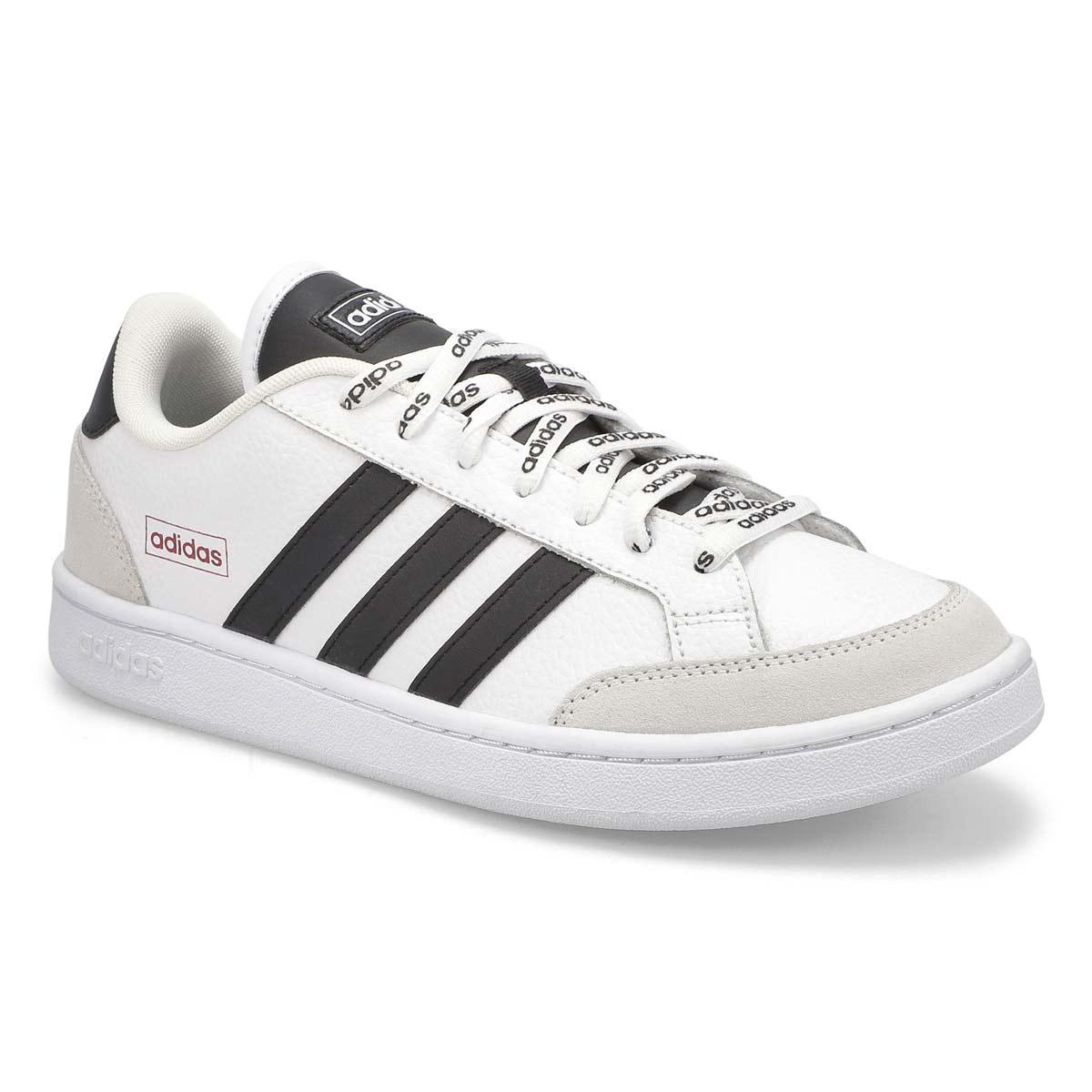 Men's Grand Court SE Sneaker - White/Black