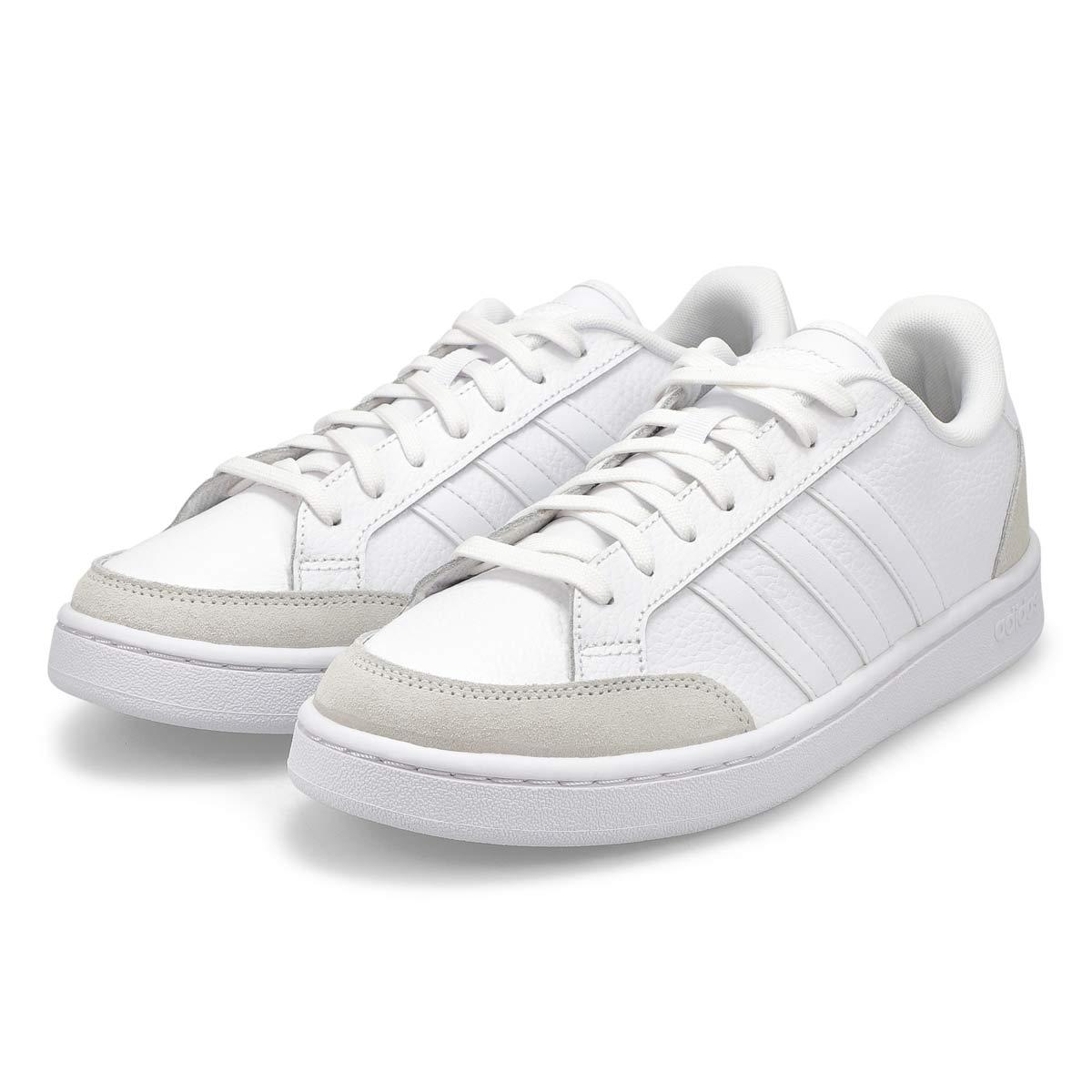 Men's Grand Court SE Sneaker - White/Grey
