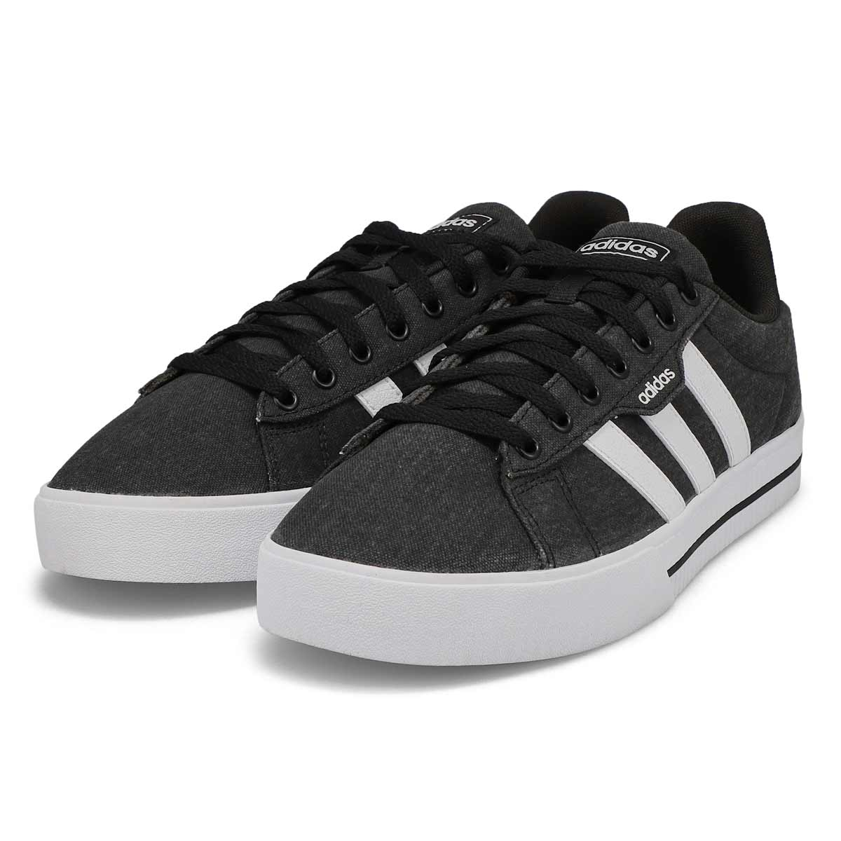 Men's Daily 3.0 Lace Up Sneaker - Black/White